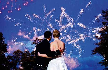 21CC Fireworks, wedding entertainment, fireworks, Scotland,
