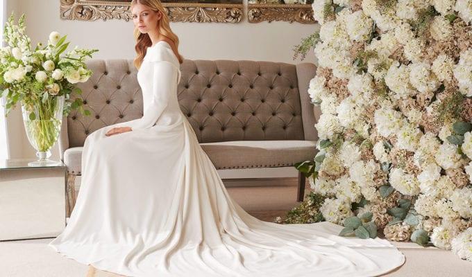 Valentina gown, £POA, Joyce Young Design Studios