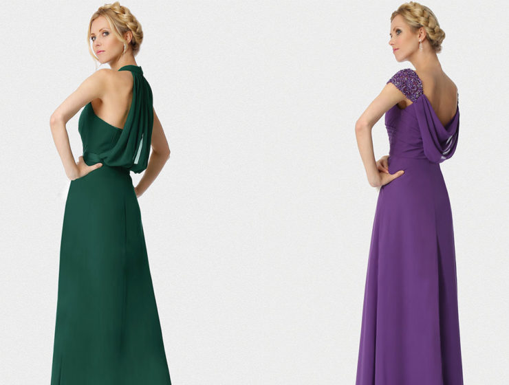 Laced with Pearls bridesmaid dresses