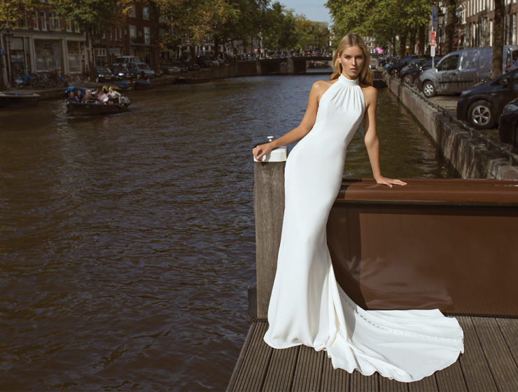 Famous gown by Modeca