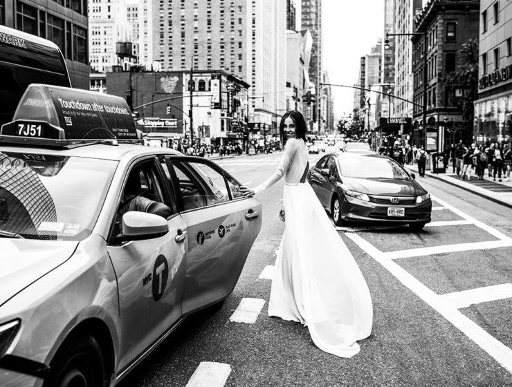 Be Authentic gown by Agata Wojtkiewicz