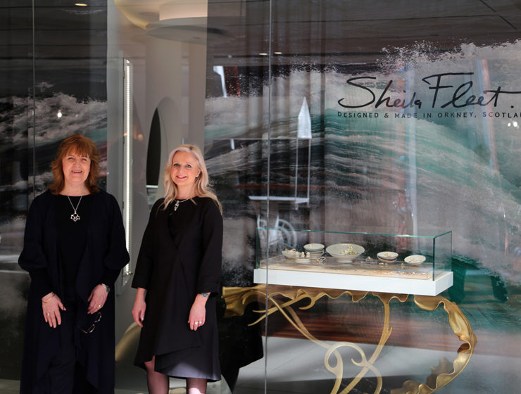 Sheila Fleet store in Princes Square, Glasgow