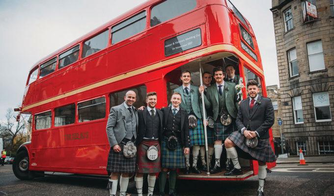 red-bus-edinburgh
