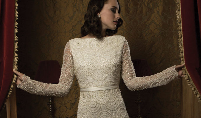 Asteria gown by Catriona Garforth Bridal